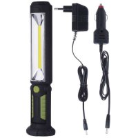 Pracovní svítilna LED 60x+5x, s akumulátorem Li-Ion