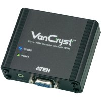 Konvertor Aten VGA na HDMI, obraz a zvuk