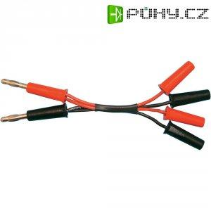 Napájecí kabel s paralelními banánky, 250 mm, 1,5 mm²