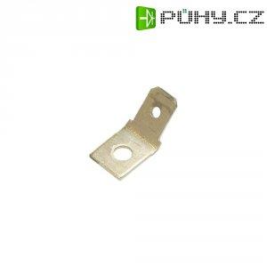 Jazýčkový konektor neizol. Vogt 3847.60, 0,8 mm, 45 °, 3,2 mm, kov