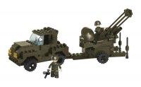 Stavebnice SLUBAN ARMY PROTILETADLOVÝ KANÓN M38-B7300