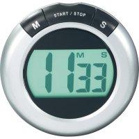 Digitální stopky (časovač) KW-9058, stříbrná, černá