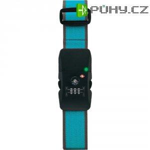 Bluetooth bezdrátový zámek na kufr K200, modrá