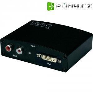 Konvertor DVI/audio ⇒ HDMI , Digitus