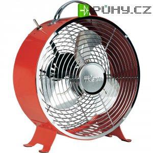 Stolní ventilátor Tristar VE-5963, Ø 25 cm, 20 W, červená