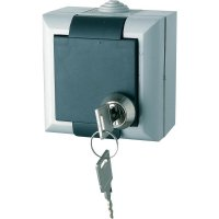 Uzamykatelná zásuvka v provedení Schuko GAO EFO600G/K