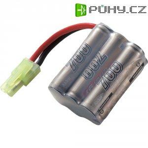 Akupack NiMH (modelářství) 7.2 V 700 mAh Conrad energy blok zásuvka mini Tamiya