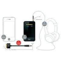 Adaptér 3,5 mm jack pro iPod, iPhone, iPad FiiO L3, 8 cm, rovný