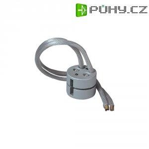 Napájecí adaptér pro kolejnicový systém SLV Linux Light, 138252, 12 V, stříbrná/šedá