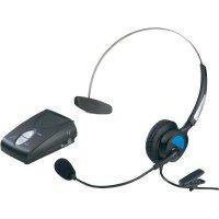 Telefonní headset KJ-97, konektor RJ10, černá