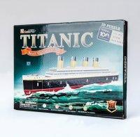 Hlavolam 3D Puzzle papírové Titanic