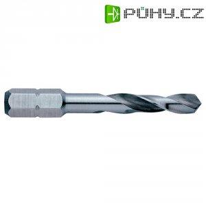 """HSS spirálový vrták Exact, 05953, Ø 6 mm, DIN 3126, 1/4\"""" (6,3 mm), celková délka 50 mm"""