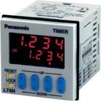 Časové relé multifunkční Panasonic LT4H24SJ, 12 V/DC, 24 V/DC, 5 A, Šroubovicový spoj, 1 přepínací kontakt, 1 ks