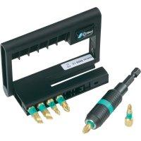 """Rychlolupínací univerzální držák pro nástavce Wera Bit-Check Rapidaptor 05056370001, 1/4\"""" (6,3 mm), 7 dílů"""