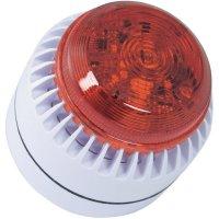 Siréna s blikajícím světlem ComPro ROLP Solista Beacon (ROLP/SB/RL/W/D), IP65, bílá