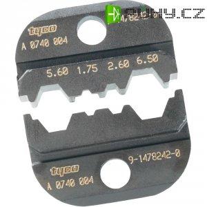 Čelisti pro krimpovací kleště TE Connectivity, 9-1478242-0, černá