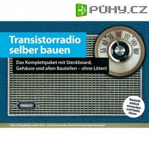 Stavebnice tranzistorového rádia Franzis