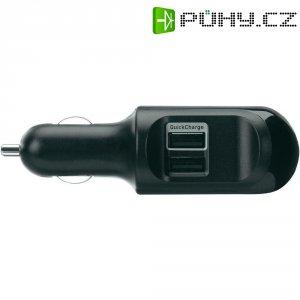 USB nabíječka do auta Belkin Duo, 2x USB, včetně Apple a USB mini kabelu
