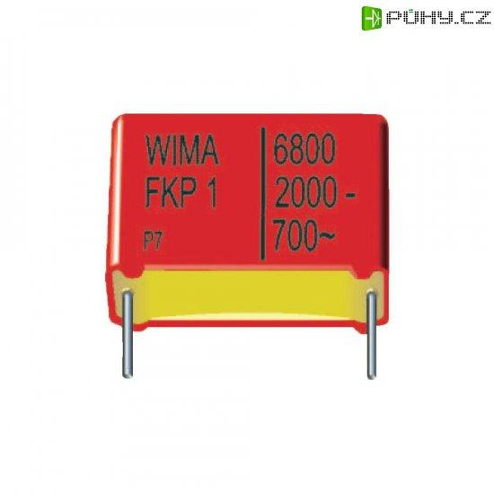 Foliový kondenzátor FKP Wima, 470 pF, 2000 V, 10 %, 18 x 6 x 12,5 mm - Kliknutím na obrázek zavřete