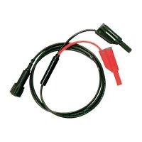 Měřicí kabel Testec 8076-50-100-S, 1 m, černá/červená