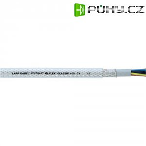 Datový kabel LappKabel Ölflex CLASSIC 100 CY, 4 x 1,5 mm², transparentní, 1 m
