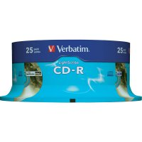 Verbatim CD-R80 700MB 52X 25 ks SP LIGHT