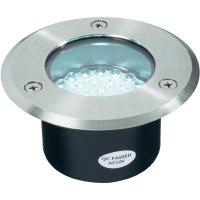Vestavné LED svítidlo kulaté, 3 W, bílá