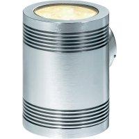 Venkovní nástěnné LED svítidlo Sygonix Livorno, 12x 1 W, stříbrná/šedá