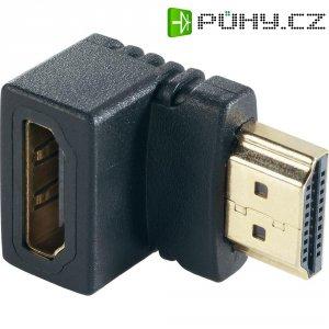 Adaptér HDMI zástrčka/zásuvka, 90°