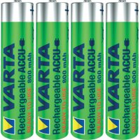 Akumulátor Varta Power Ready2Use, NiMH, AAA, 800 mAh , 4 ks