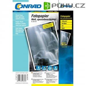 Conrad fotopapír A4,160g, 20