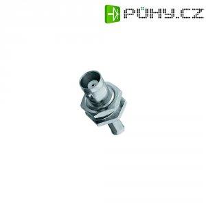 BNC vestavná zdířka Amphenol B6421A1-NT3G-1-50, 50 Ω