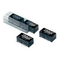 DC/DC měnič TracoPower TMR 3-1223, vstup 9 - 18 V/DC, výstup ±15 V/DC, ±100 mA, 3 W