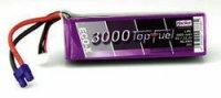 Akupack LiPol Hacker EC3, 23000631, 22,2 V, 3000 mAh, 20 C