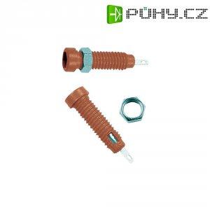 Bezpečnostní konektor MultiContact 23.0050-22, zásuvka vest. vertikální, (Ø) 2 mm, červená