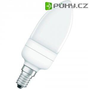 Úsporná žárovka svíčka Osram Star E14, 9 W, teplá bílá