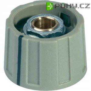 Otočný knoflík bez ukazatele (Ø 23 mm) OKW, 6 mm, šedá
