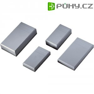 Stolní pouzdro polystyrolové Bopla ELEGANTGEH. EG 2050, (d x š x v) 200 x 112 x 50 mm, šedá (EG 2050)
