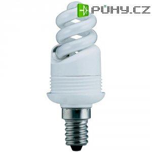 Úsporná žárovka spirálová Paulmann E14, 9 W, teplá bílá