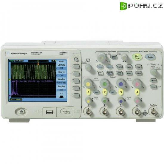 Digitální osciloskop Agilent Technologies DSO1102B, 2 kanály, 100 MHz - Kliknutím na obrázek zavřete
