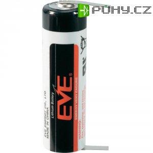 Lithiová baterie Eve, typ AA, s kolmými pájecími hroty