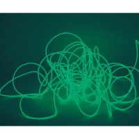 Elektroluminiscenční kabel, Ø 2 mm, 2 m, zelená
