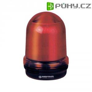 Bleskové světlo Werma, 828.100.55, 24 V/DC, 300 mA, IP65, červená