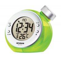 Digitální hodiny na vodní pohon Orava BD 502 zelené