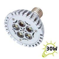 Žárovka LED E27/230V (5x1W) bílá teplá