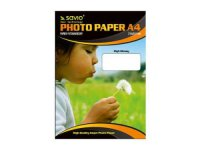 Fotopapír SAVIO A4 150g/m2 - lesklý, 100 listů