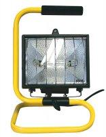 Reflektor 500W bez PIR senzoru černý s držákem