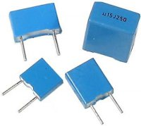 680n/63V TC352, svitkový kondenzátor radiální RM=7,5mm