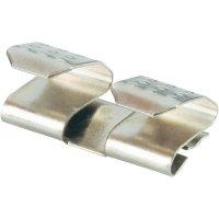 Propojka pro baterie AAA, AAAA Keystone 202, 16,76 x 8,66 mm, stříbrná