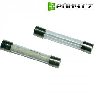 Jemná pojistka ESKA středně pomalá 530210, 500 V, 0,2 A, skleněná trubice, 5 mm x 30 mm